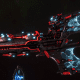 Aeldari Corsair Battleship - Voidstalker [Void Dragon - Sub-Faction]