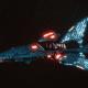 Craftworld Asuryani Destroyer - Shard Shadowhunter [Alaitoc - Eldar Sub-Faction]