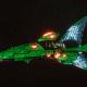 Craftworld Asuryani Destroyer - Shard Shadowhunter [Biel-Tan - Eldar Sub-Faction]