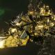 """Ork Light Cruiser - """"Basha Ordzgargdaka"""" - [Bad Moons Sub-Faction]"""
