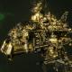 "Ork Cruiser - ""Killa Stompa"" - [Bad Moons Sub-Faction]"
