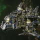 "Ork Battle Cruiser - ""Hammer"" - [Death Skullz Sub-Faction"