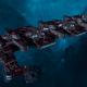"Tau Merchant Fleet Battleship - ""Gal'Leath Vash'Ya"" - [Farsight Enclave Sub-Faction]"