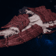"Tyranid Battleship - ""Bio Acid Hiveship"" - [Kraken Sub-Faction]"