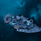 "Tau Protector Fleet Frigate - ""Castellan"" - [Sa'cea Sub-Faction]"