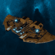 "Tau Protector Fleet Frigate - ""Castellan"" - [T'au Sub-Faction]"