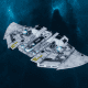 "Tau Protector Fleet Frigate - ""Castellan"" - [Tau'n Sub-Faction]"