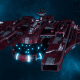 "Tau Protector Fleet Battleship - Or'Es El'Eleath ""Custodian"" - [Farsight Enclave Sub-Faction]"