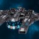 "Tau Protector Fleet Battleship - Or'Es El'Eleath ""Custodian"" - [D'Yanoi Sub-Faction]"
