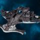 """Tau Protector Fleet Light Cruiser - Il'Porrui """"Emissary"""" Sa'Cea - [D'Yanoi Sub-Faction]"""