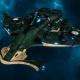 "Tau Protector Fleet Light Cruiser - Il'Porrui ""Emissary"" Bork'an - [Dal'yth Sub-Faction]"
