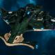 """Tau Protector Fleet Light Cruiser - Il'Porrui """"Emissary"""" Sa'Cea - [Dal'yth Sub-Faction]"""
