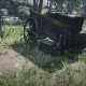 The Volatile Dynamite Pamphlet can be found in the chest, under this broken wagon . . .