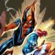 Spiderman- Captain America by J Scott Campbell