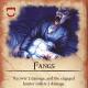 Dracula's Fangs card