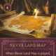 Never Land Map item card