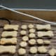 Using a bone-shaped cookie cutter is a fun idea, if you have one!