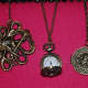 Brass jewelry is de rigueur for Steampunk fashionistas