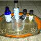 Making homemade perfume