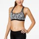 Nike two piece black and white swimsuit