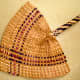 Papuan Fan Made from Palm Leaves, 1960
