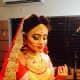 Absolutely stunning hair setting for a Bangladeshi wedding.