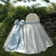 angel baby blue bassinet.  the charlie collection.