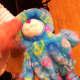 Peace Bear before Being Stuffed