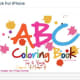 ABC Alphabet Coloring Book for iPhone
