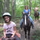 Trail rides are a fun activity for the whole family.