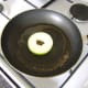 Glaze the apple ring in honey and sage