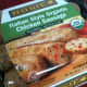 Gluten-free, organic chicken sausage (Italian style).
