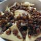 Add the Sultanas and or raisins
