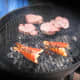 Flip over. Grill lobster tails for 2 more minutes.