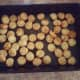 Step 7: Layer the cooked tater tots in a 13x9 baking pan.