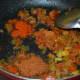 Add the red chili powder and pav bhaji masala powder. Sauté for 30 seconds.