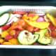 Vegetables ready for roasting