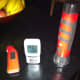 A meat thermometer and timer will help you cook your meat to perfection.