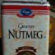 Ground nutmeg (or cinnamon).
