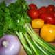 Start with fresh vegetables.