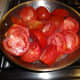 Steam tomatoes and chiles for a few minutes
