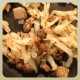 onions, potatoes, salt & pepper and sausage