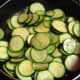 The zucchini don't have to cook a lot, just enough to get a little tender.