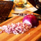 Dice your onion and place into a bowl.