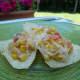 Serve hot corn dip with tortilla chips