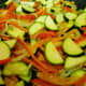 Add the zucchini...