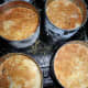 Golden brown English muffins