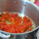 Saute red and green bell peppers. Add spices during last 5 minutes of cooking.