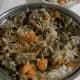 Special chicken and mushroom rice