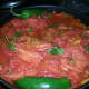 Everythings in the pot ready to boil.